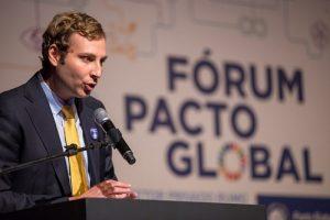 Representante do PNUD falou, Jean Bernardini, falou sobre papel do setor privado no cumprimento dos ODS